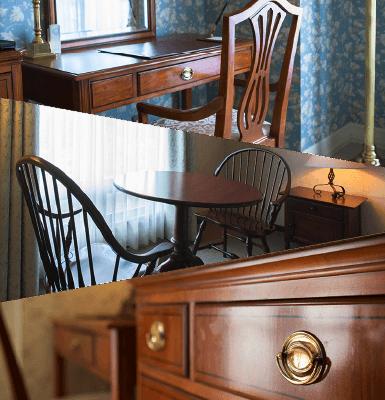 アメリカ直輸入のウッディーな家具